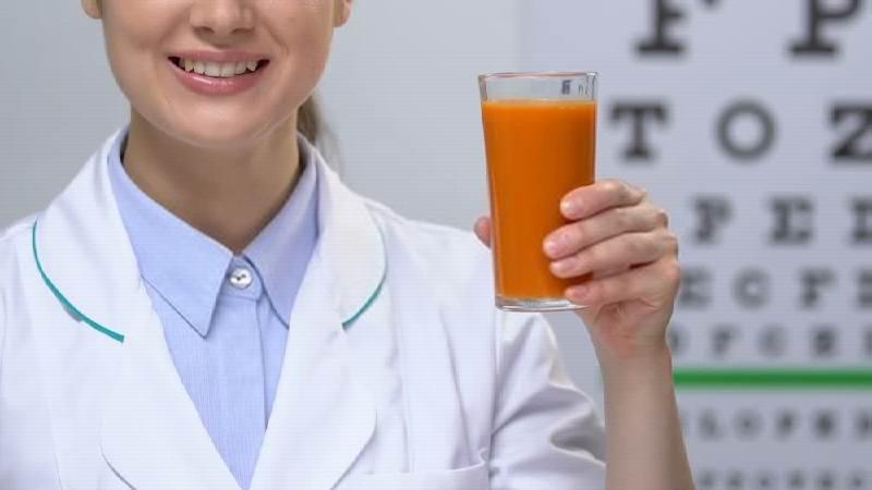 Carrot Juice Nutrients- before benefits