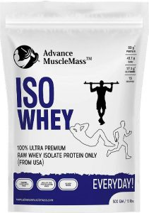 Advance MuscleMass Raw Whey Protein Isolate 90%