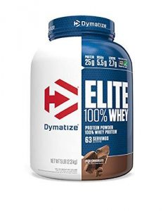 Dymatize Elite 100% Whey Protein Supplement Powder