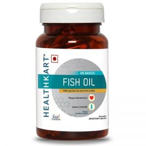 HealthKart Omega 3 Fish Oil Supplement