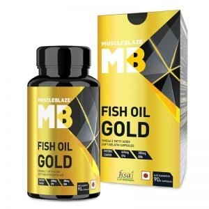 MuscleBlaze Omega 3 Fish Oil
