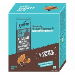 Ritebite Max Protein Daily Choco Almond Bars