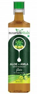 NourishVitals Aloe Vera and Amla Super Energizer Juice